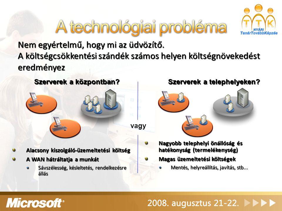 A technológiai probléma