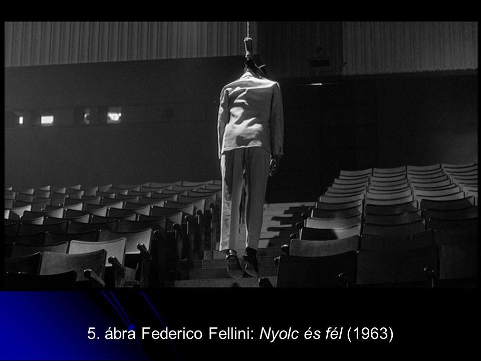 5. ábra Federico Fellini: Nyolc és fél (1963)