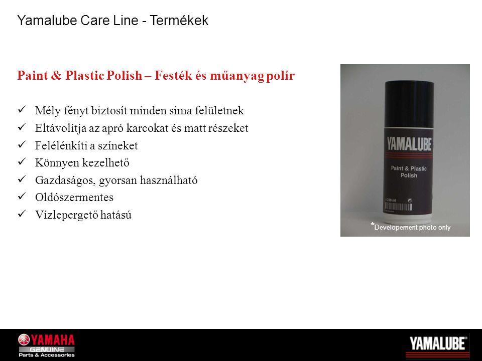 Yamalube Care Line - Termékek
