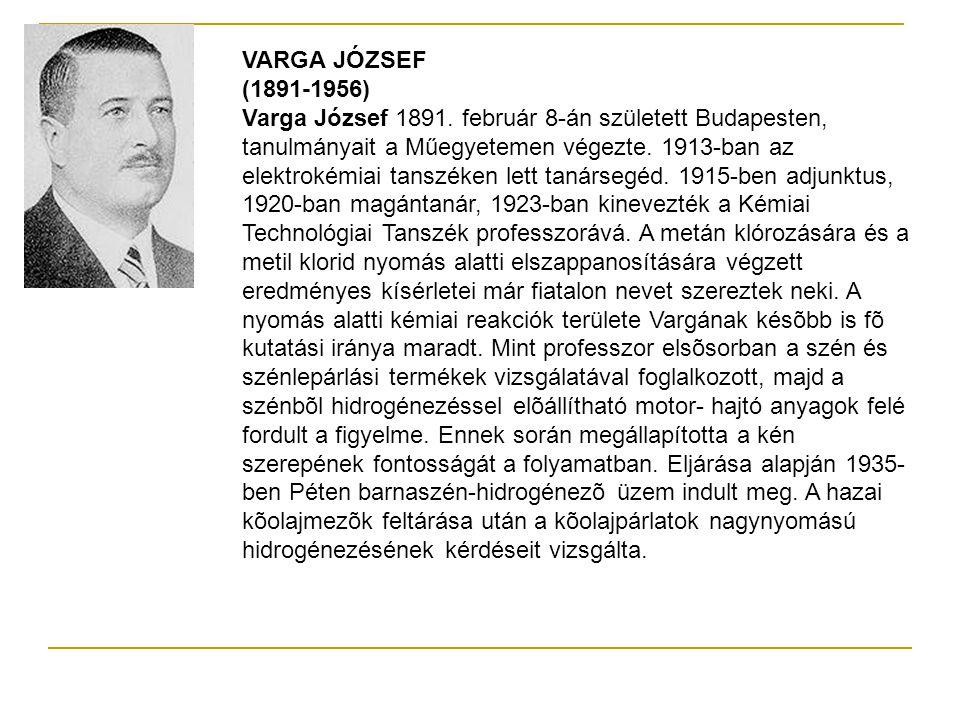 VARGA JÓZSEF (1891-1956)
