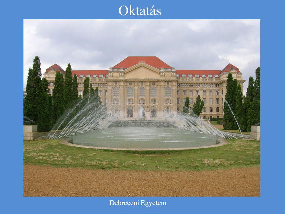Oktatás Debreceni Egyetem