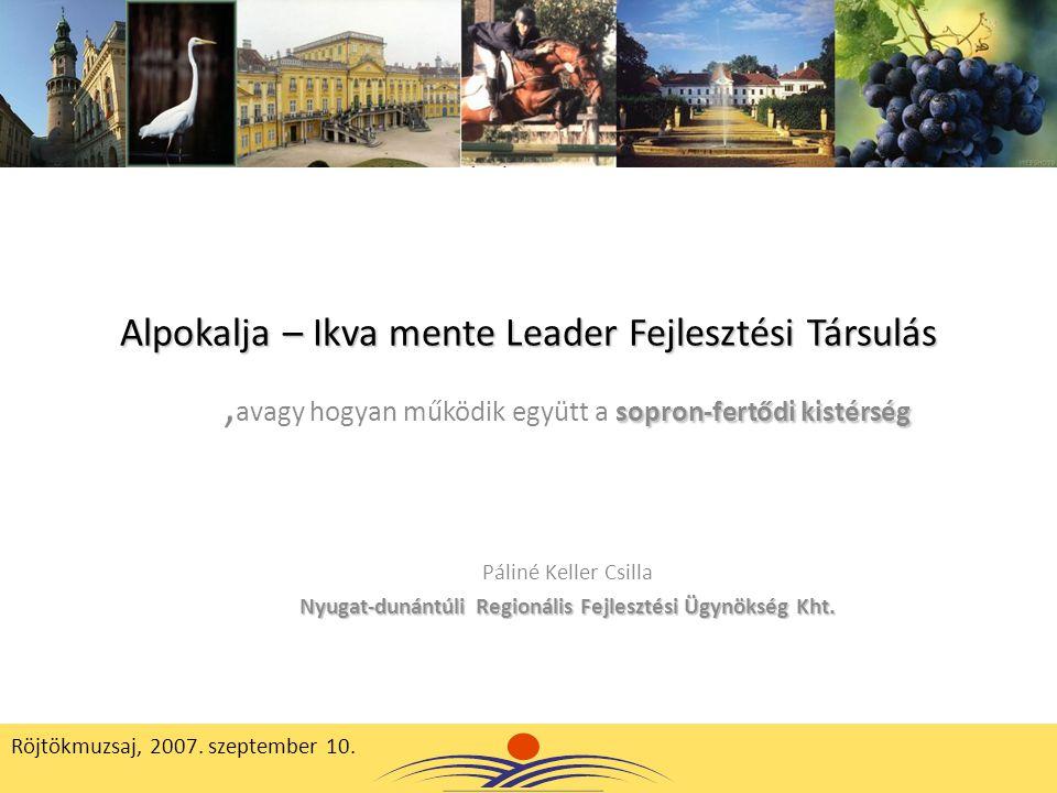 Alpokalja – Ikva mente Leader Fejlesztési Társulás