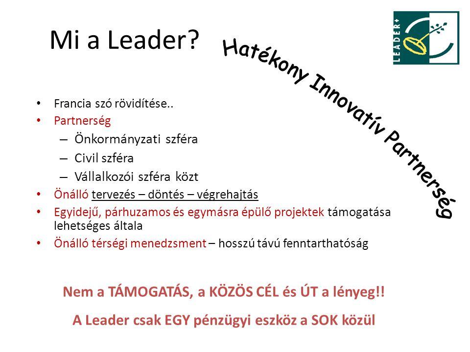 Mi a Leader Hatékony Innovatív Partnerség