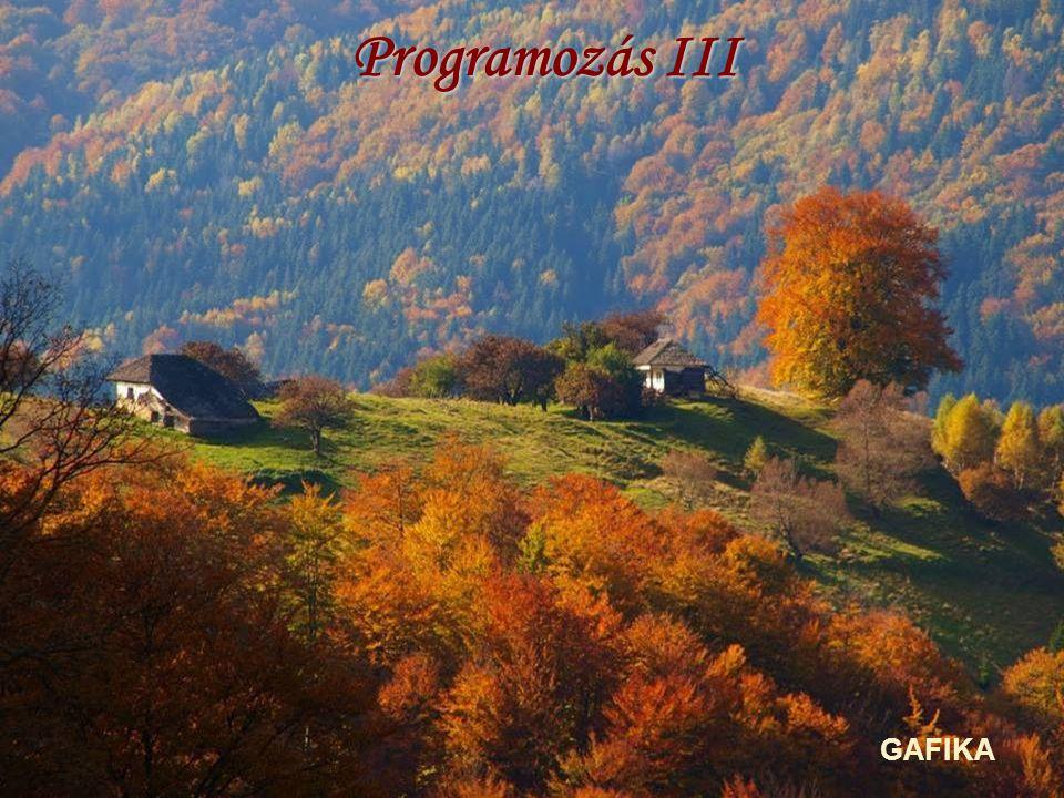 Programozás III GAFIKA