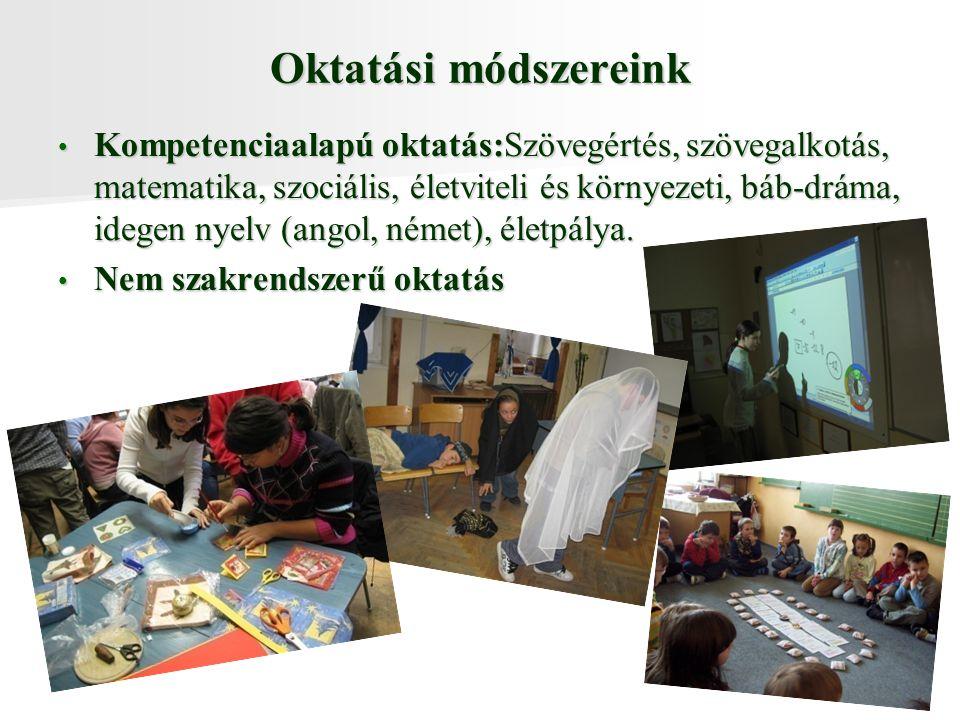 Oktatási módszereink