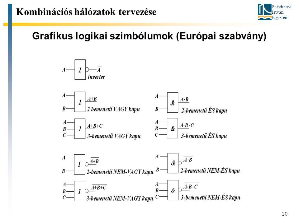 Grafikus logikai szimbólumok (Európai szabvány)