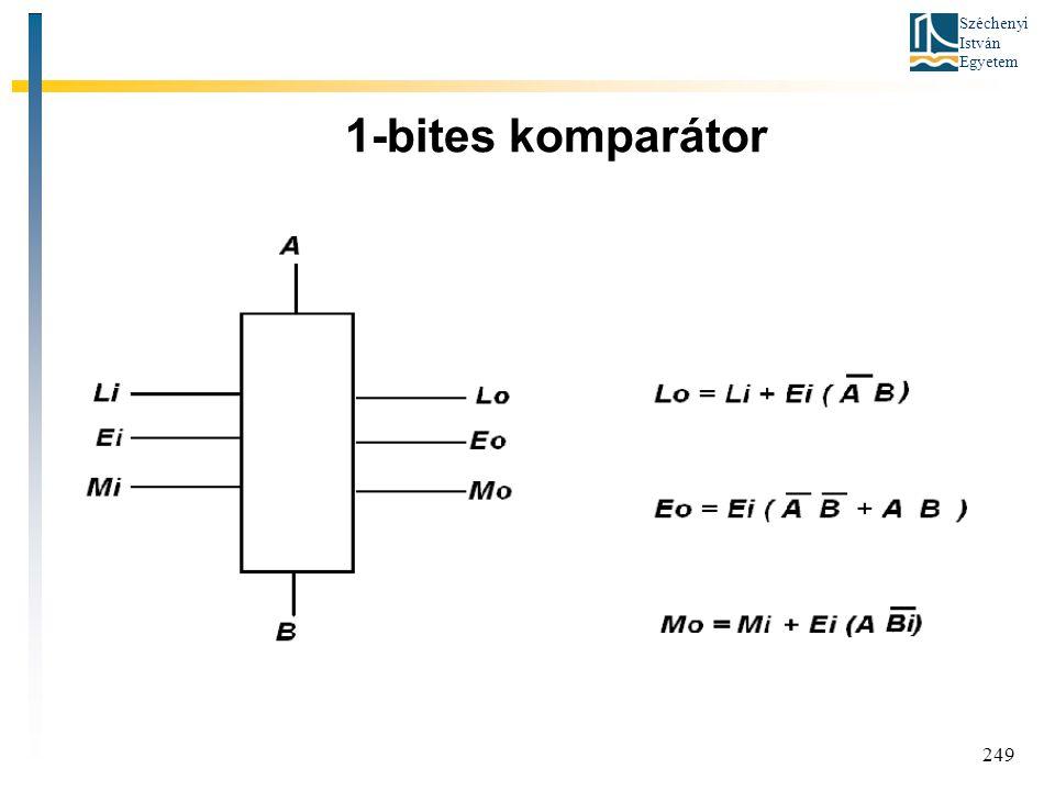 1-bites komparátor