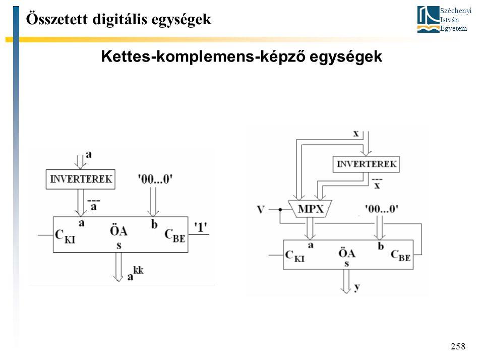 Kettes-komplemens-képző egységek