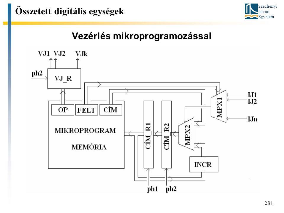Vezérlés mikroprogramozással