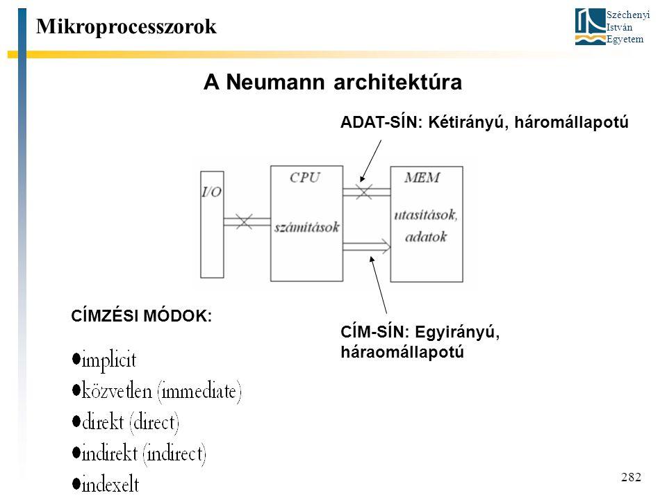 A Neumann architektúra