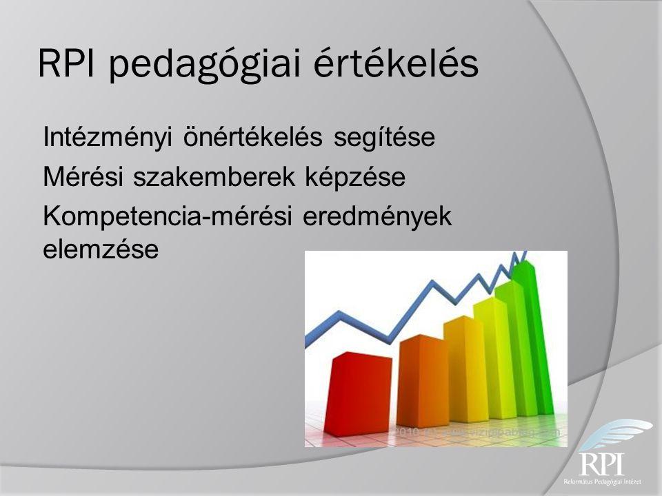 RPI pedagógiai értékelés