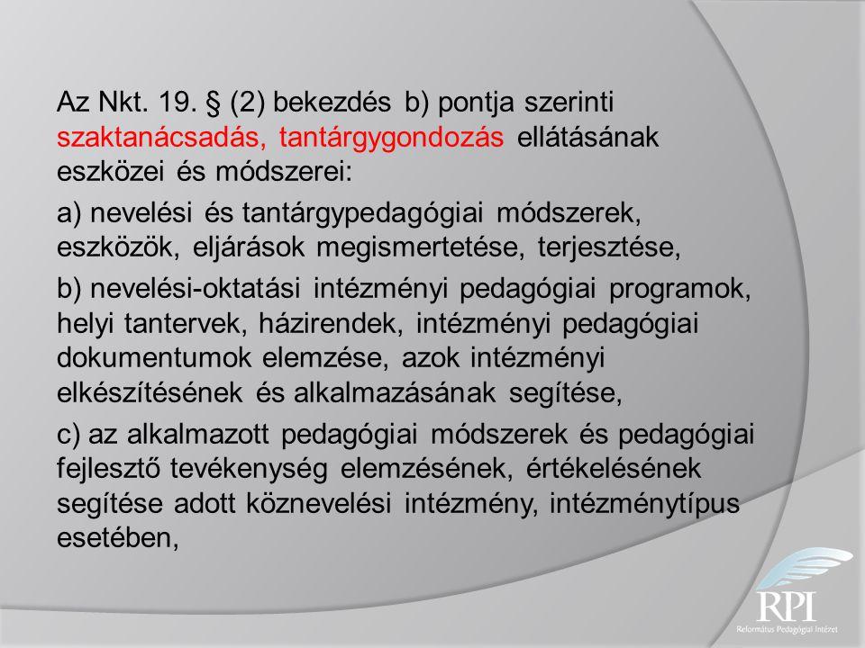 Az Nkt. 19.