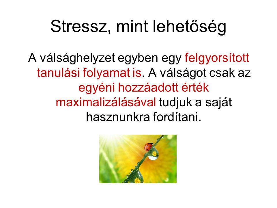 Stressz, mint lehetőség