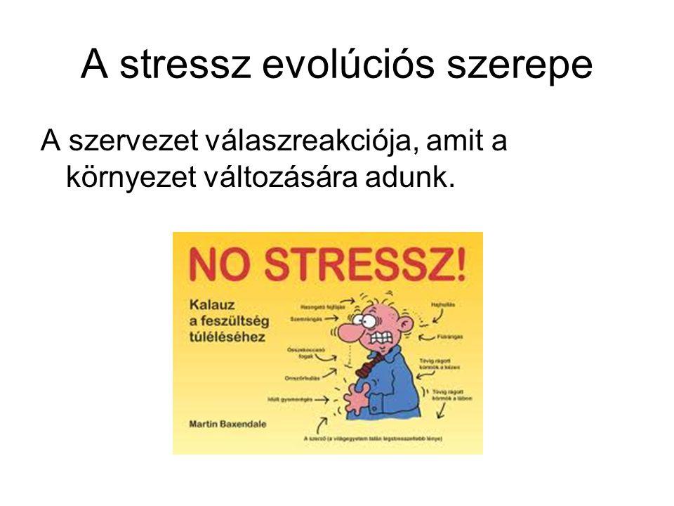 A stressz evolúciós szerepe