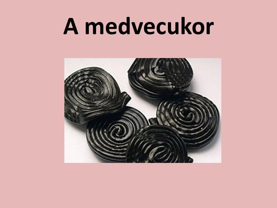 A medvecukor