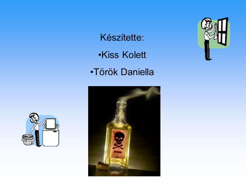 Készítette: Kiss Kolett Török Daniella