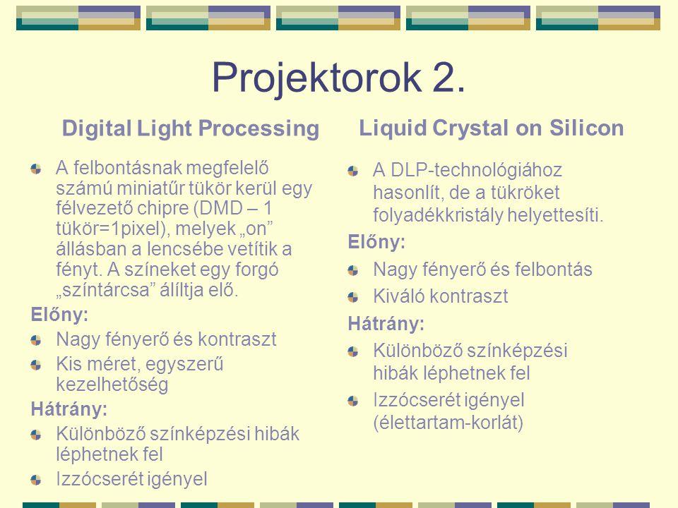 Digital Light Processing Liquid Crystal on Silicon