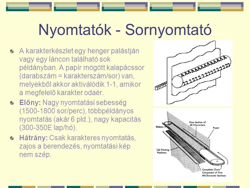 Nyomtatók - Sornyomtató