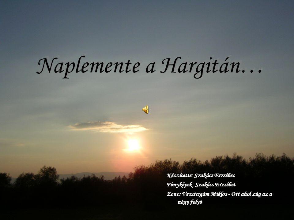 Naplemente a Hargitán…