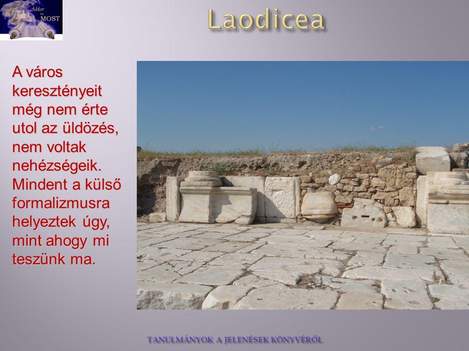 A város keresztényeit még nem érte utol az üldözés, nem voltak nehézségeik.