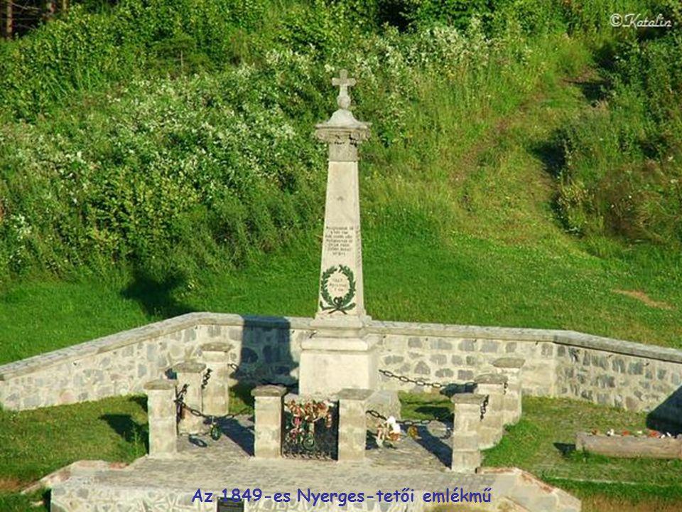 Az 1849-es Nyerges-tetői emlékmű
