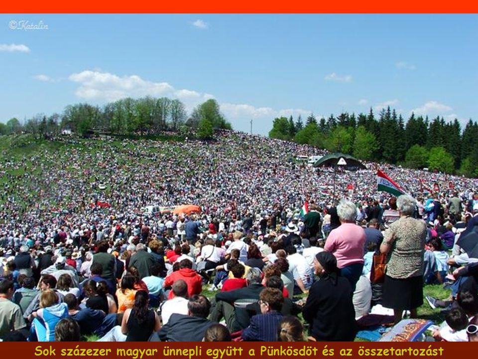Sok százezer magyar ünnepli együtt a Pünkösdöt és az összetartozást