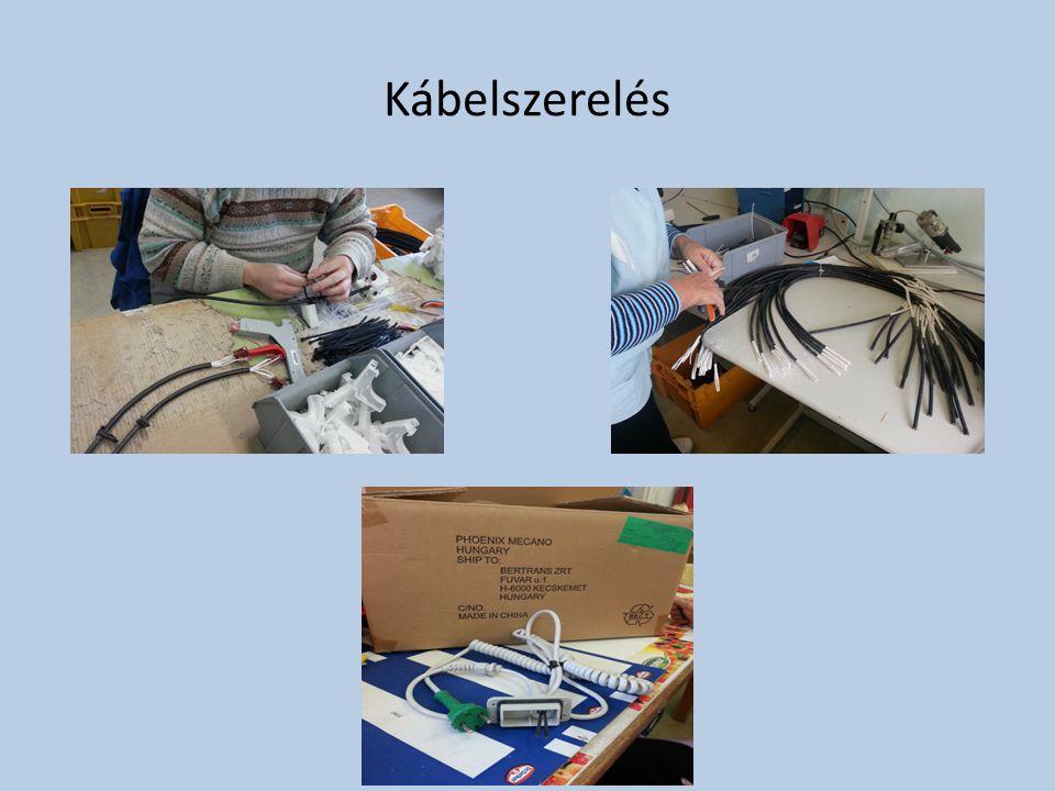 Kábelszerelés