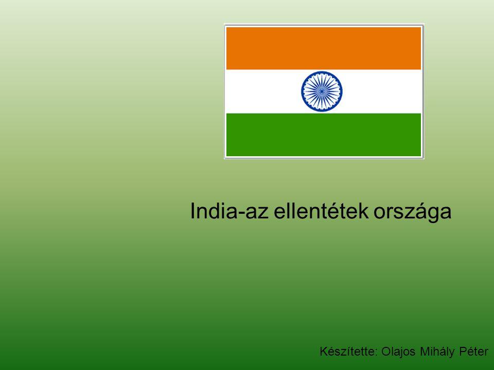 India-az ellentétek országa