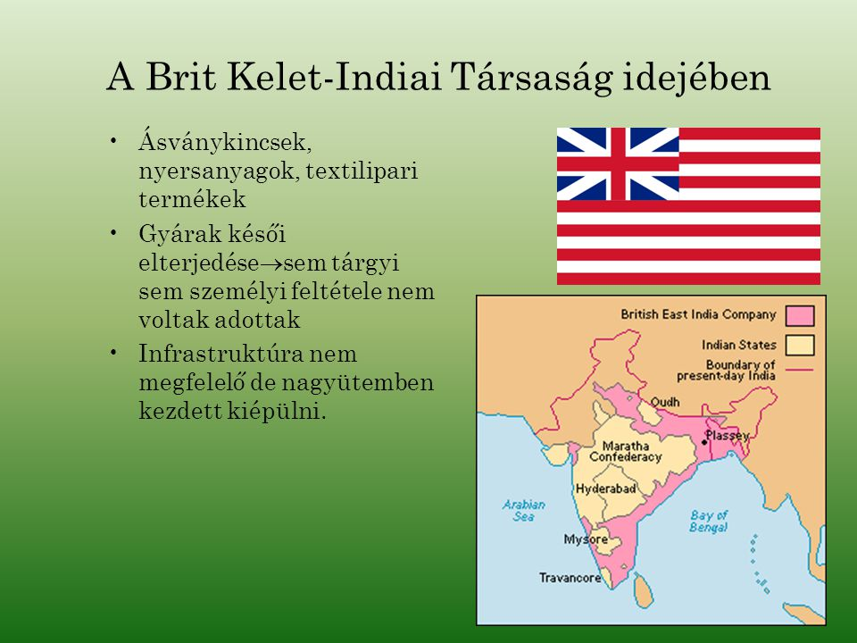A Brit Kelet-Indiai Társaság idejében