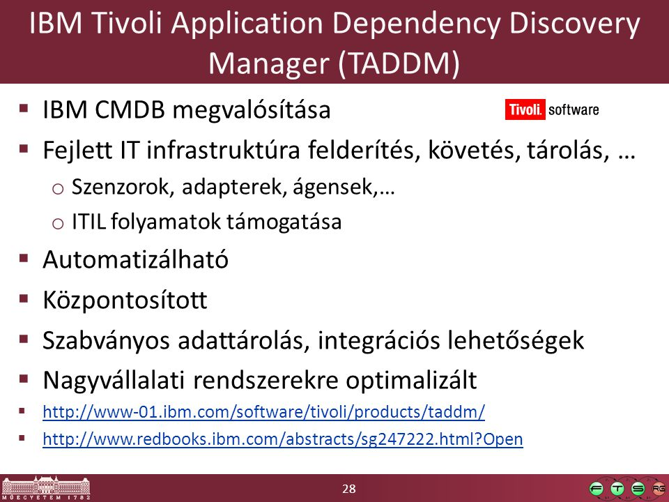 IBM Tivoli Application Dependency Discovery Manager (TADDM)