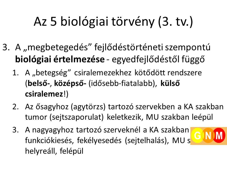 Az 5 biológiai törvény (3. tv.)