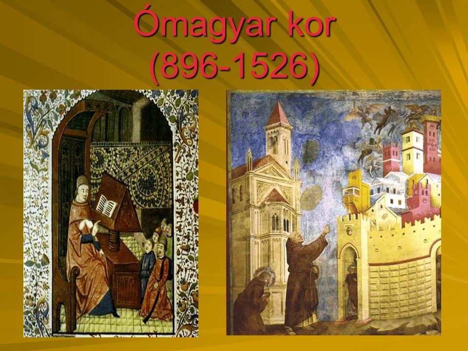 Ómagyar kor (896-1526)