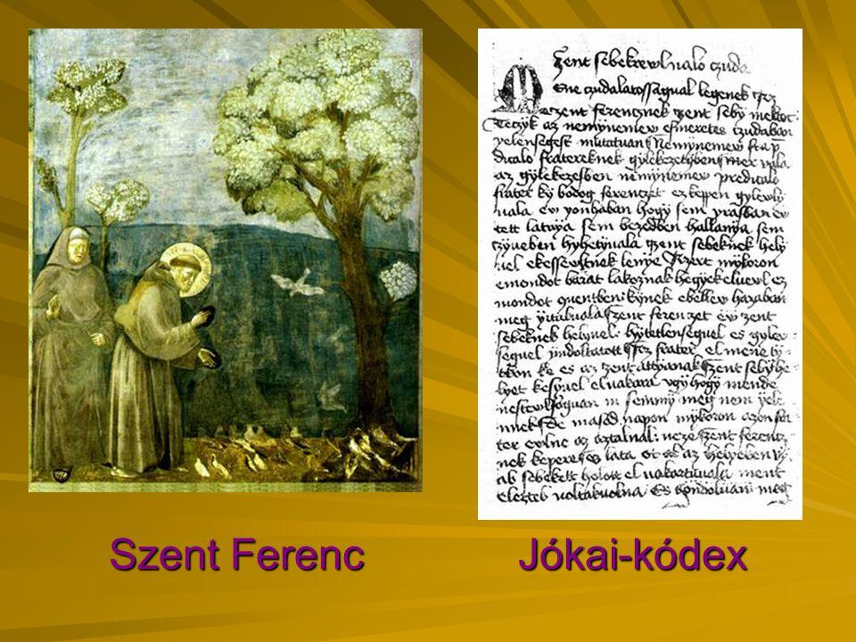 Szent Ferenc Jókai-kódex