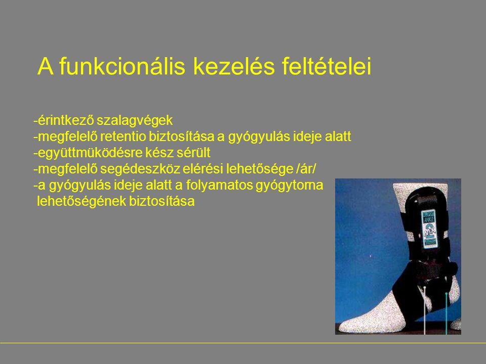 A funkcionális kezelés feltételei