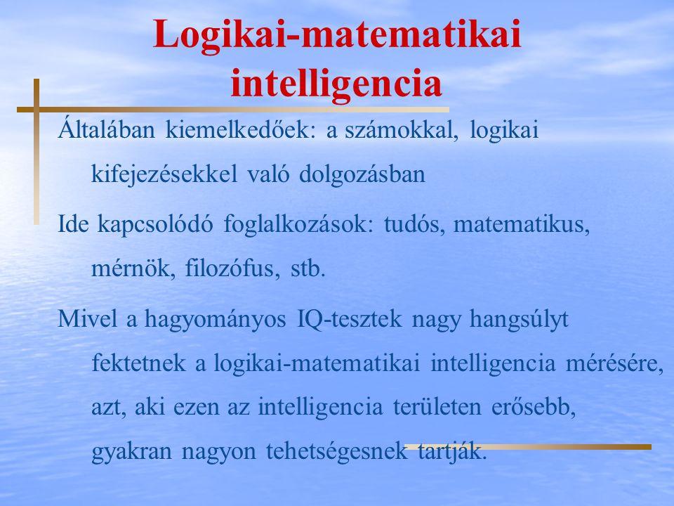Logikai-matematikai intelligencia
