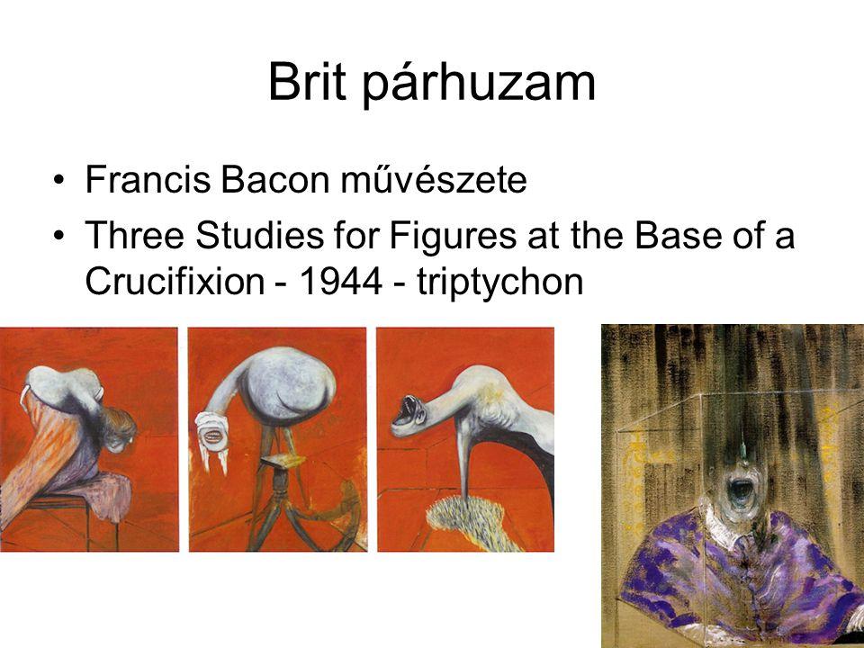 Brit párhuzam Francis Bacon művészete