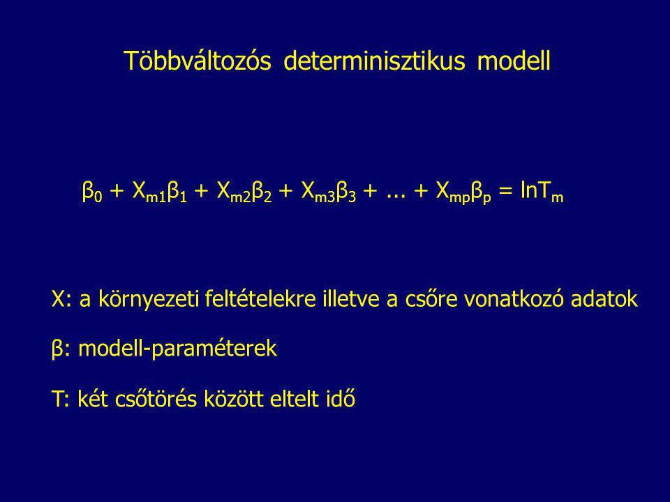 Többváltozós determinisztikus modell