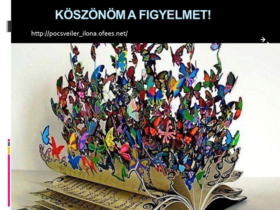 KÖSZÖNÖM A FIGYELMET! http://pocsveiler_ilona.0fees.net/