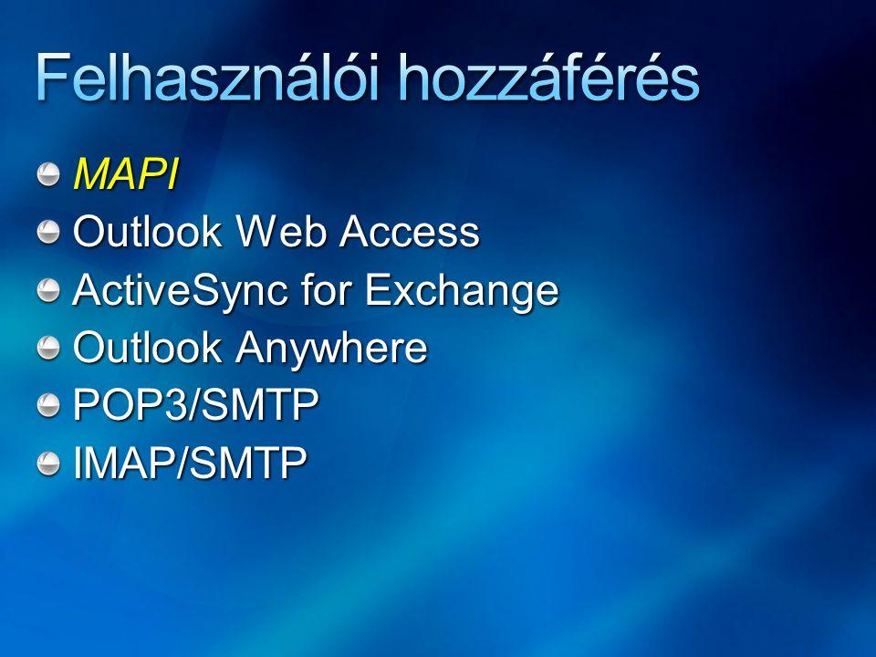 Felhasználói hozzáférés