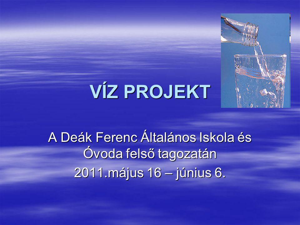 A Deák Ferenc Általános Iskola és Óvoda felső tagozatán