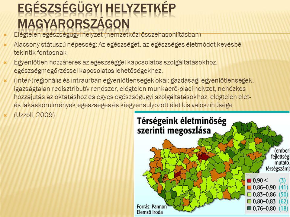 Egészségügyi helyzetkép Magyarországon