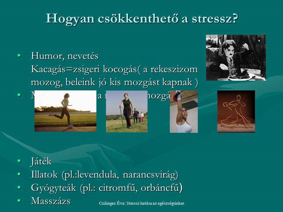 Hogyan csökkenthető a stressz