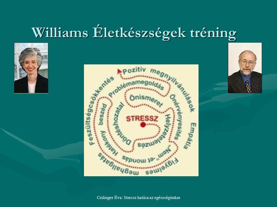 Williams Életkészségek tréning