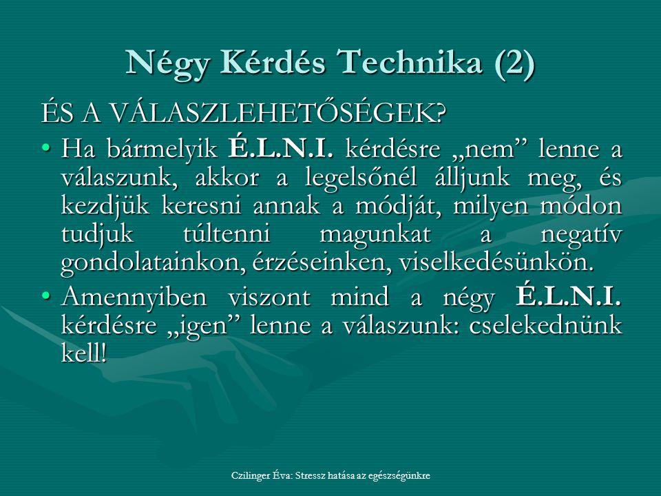 Négy Kérdés Technika (2)