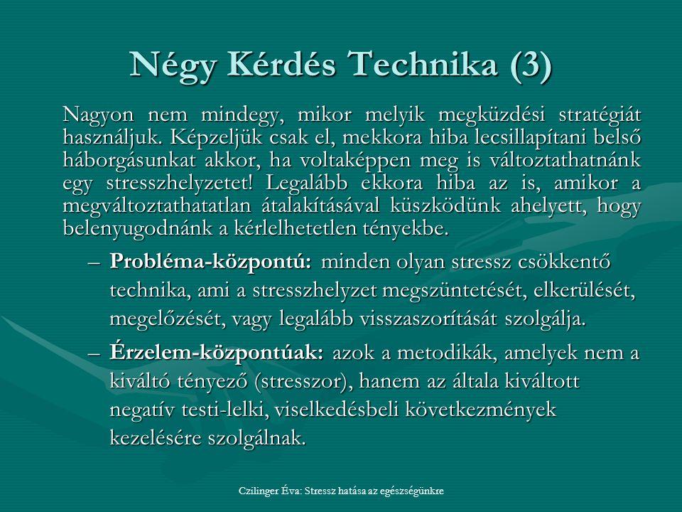 Négy Kérdés Technika (3)