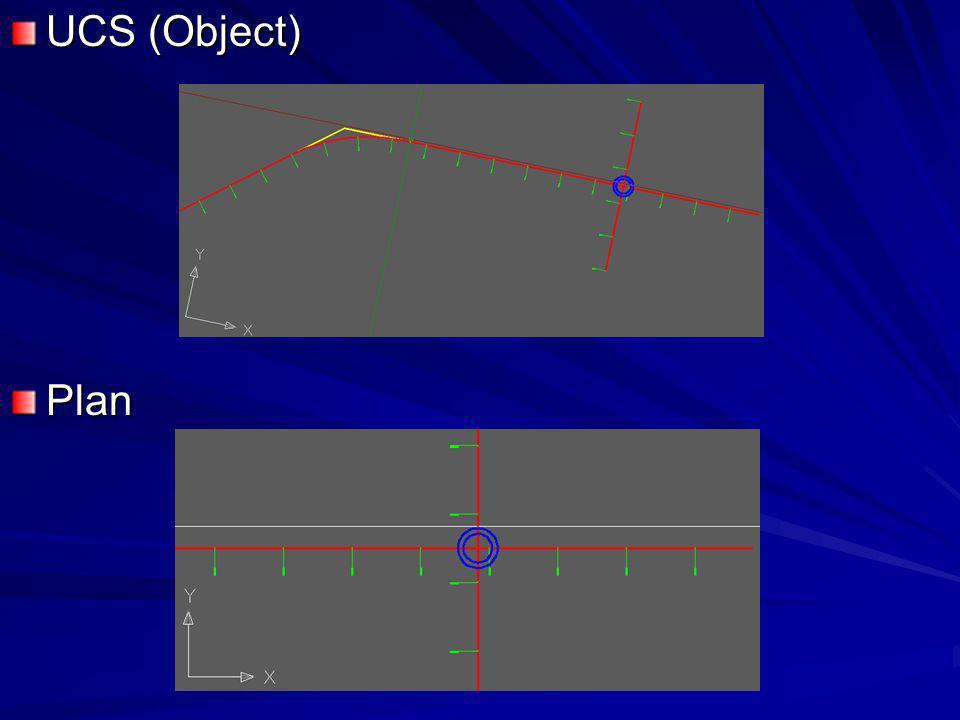 UCS (Object) Plan