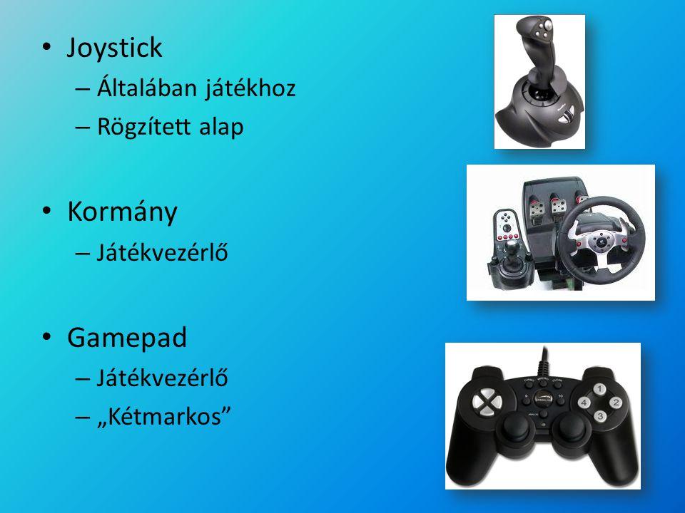 Joystick Kormány Gamepad Általában játékhoz Rögzített alap