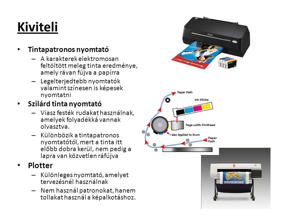 Kiviteli Plotter Tintapatronos nyomtató Szilárd tinta nyomtató