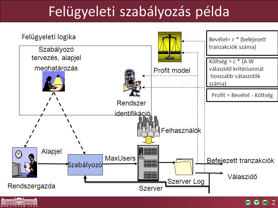 Felügyeleti szabályozás példa