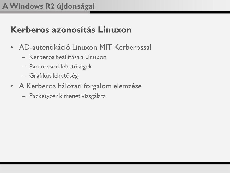 Kerberos azonosítás Linuxon
